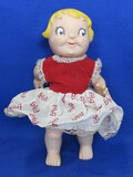 "Vintage Campbell's Soup Girl Doll – 10"" tall, made of Vinyl"