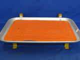 Metal Tray for Car Doors from Drive-In Restaurant – A & W? Has Orange Rubber Pad