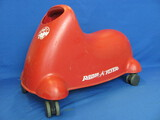 "Plastic Radio Flyer ""Scoot 'n Zoom"" 20"" long – Made in USA"