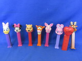 8 Pez Dispensers