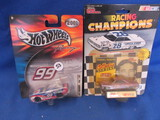 2 1:64 Scale Race Cars in Packaging