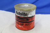 Vintage Tin – Autolite Tune-Up Kit TKF-1 with Plastic lid & some contents