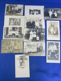 11 Antique B & W Portraits/Postcards ( Children/Adults)