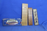 4 Vintage Cribbage Boards (1 is a Boxed set with the Still wrapped Card Decks