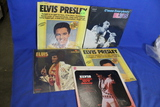 Lot of 5 Elvis Presley Vinyl Records – C'mon Everybody, Pure Gold, Frankie & Johnny, etc.