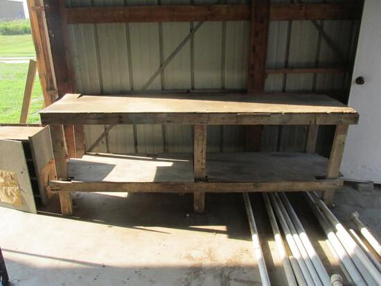 Wood Work Bench