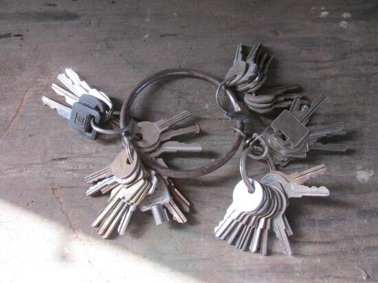 Variety of Keys – Vehicle – Padlock Keys & Others
