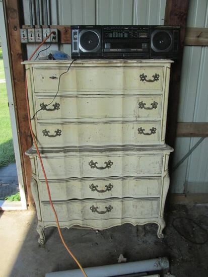 Wood Dresser – Six Drawers