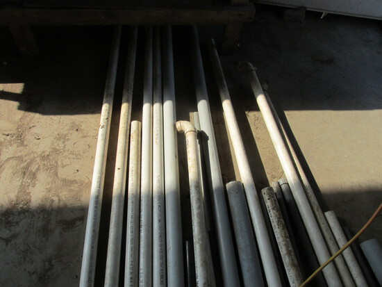 PVC Pipes – Variety of Sizes