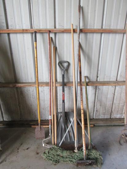 Variety of Items – Ice Scraper – Broom – Plastic Scoop Shovel – Snow Rake & Other