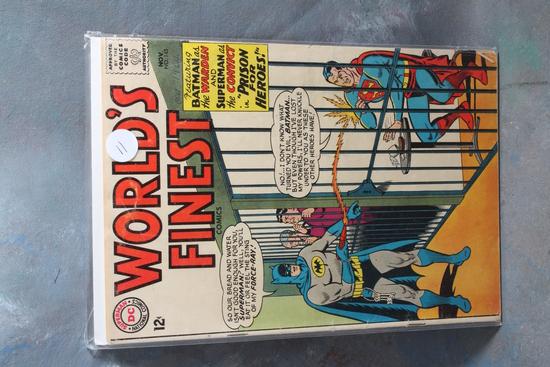 Vintage CD 12 Cent Comic Book World's Fines Batman & Superman