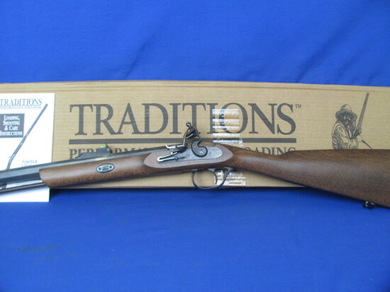 Traditions Mussleloader Deerhunter Left Handed Rifle - .50 Caliber – In Original Box