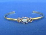 Vintage Krementz Gold Filled Bracelet with Opal – Delicate Look