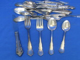 Dresden Rose Silverplate Flatware by Reed & Barton – 35 Pieces