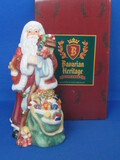 "Porcelain Santa Claus Figurine from the Bavarian Heritage Collection – 7 1/2"" tall"