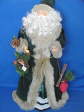 "Lightweight Santa Claus Figurine w Cardboard Insert – 24"" tall"