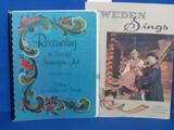 """1974 """"Rosemaling the Beautiful Norwegian Art"""" & """"Sweden Sings"""""""