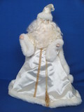 "Lightweight Father Christmas Figurine w Plastic Insert – 18"" tall – Original box"