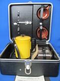 Empire Travl-Perk – Electric (Auto) in Platt Hardcase – 2 Cups & Utensils – Even Coffee