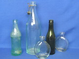 5 Glass Bottles: Royal Palm Soda Cedar Rapids, Iowa – Jacob Ries Shakopee, Minn