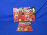 1991 American Gladiators NITRO Action Figures (3)