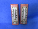 Thermometers With Wood Base (2)
