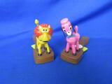 TM Plastic Squeeze Toys – Lion & Pink Poodle – British Patent