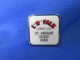 Barlow Pocket Tape Measure – Lime Rock Falk Construction Co. Iowa