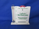 Ever Green Metal Rain Gauge With Glass Tube