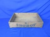 Snoboy Pacific Fruit & Produce Wood Box – Yakima WA