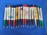 Lot of 17 Vintage Mechanical Pencils w/ Advertising – As shown