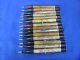 Lot of 14 Vintage Mechanical Pencils w/ Advertising – As shown