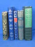 Lot of Decorative Books: 1909 Journeys Through Bookland, Mark Twain, Edgar Allan Poe