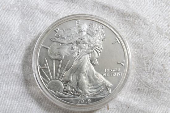 2010 One Ounce Silver Eagle Coin
