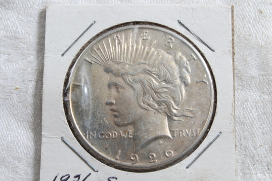 1926-S Peace Silver Dollar Coin