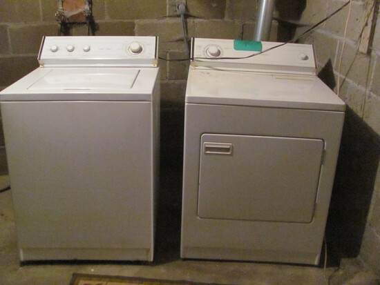 Whirlpool Washer & Dryer Set – Both Work