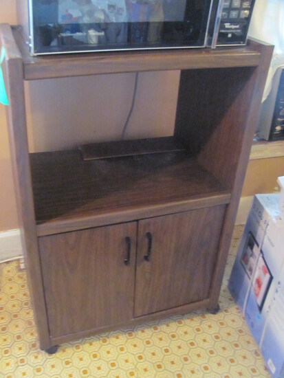 """TV/Microwave Stand – Doors on bottom 45 1/2"""" T x 30"""" W x 20"""" D"""