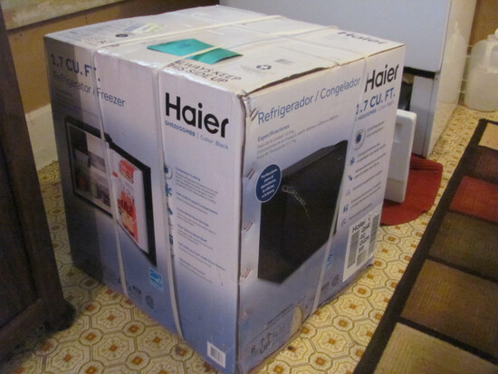 Haier Refrig/Freezer New in Box 1.7 cu ft.