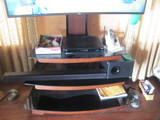 """TV Stand 3 shelves – Mounting hardware for TV 41"""" W x 21"""" D"""