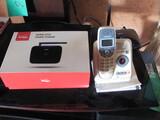 Vtech Cordless Handset w/digital answering & Verizon Wireless Home Phone Unit