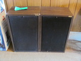 """Pair of Linear Speakers 25"""" Tall – untested"""