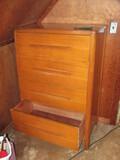 "Vintage 4 Drawer Wood Dresser 32"" W x 19"" D x 48 1/2"" T"