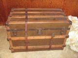 """Vintage Trunk by Eau Claire Trunk Co -  34 1/4"""" w x 19"""" d x 22 1/2"""" t"""