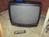 "20"" Phillips Magnavox Tube TV w/ RCA Antenna – works"