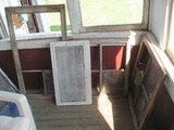 """3 Windows & 1 Screen – some glass missing – largest measures 41 1/2"""" x 22"""""""