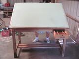 """Drafting Table – 60"""" L x 39"""" W x 37 1/2"""" T"""