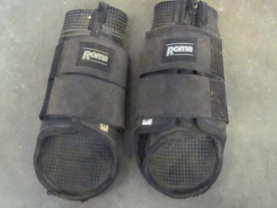 Pair of Medium Roma Brand Sports Medicine Boots