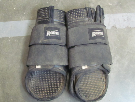 Pair of Large Roma Brand Sports Medicine Boots