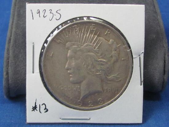 1923-S  Peace Silver Dollars