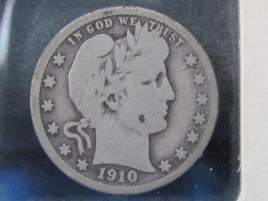 1910-D Barber Quarter